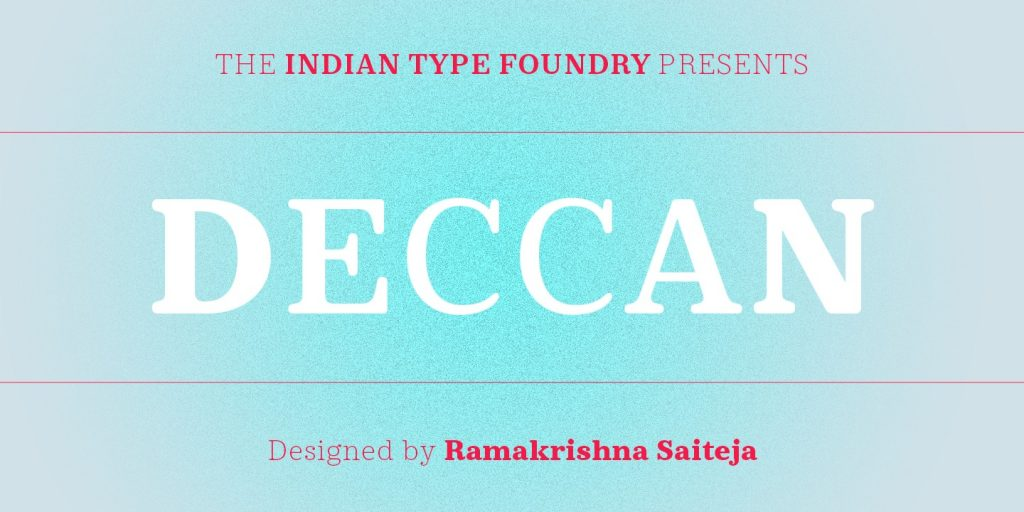 Deccan [5 Fonts] | The Fonts Master
