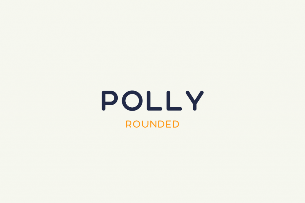 Polly Rounded [4 Fonts] | The Fonts Master