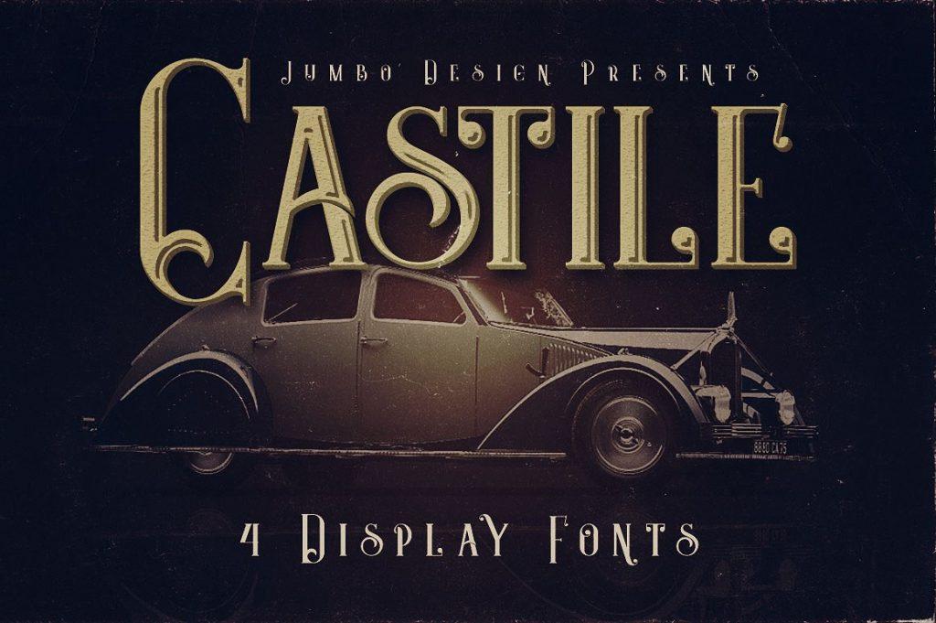 Castile [4 Fonts] | The Fonts Master